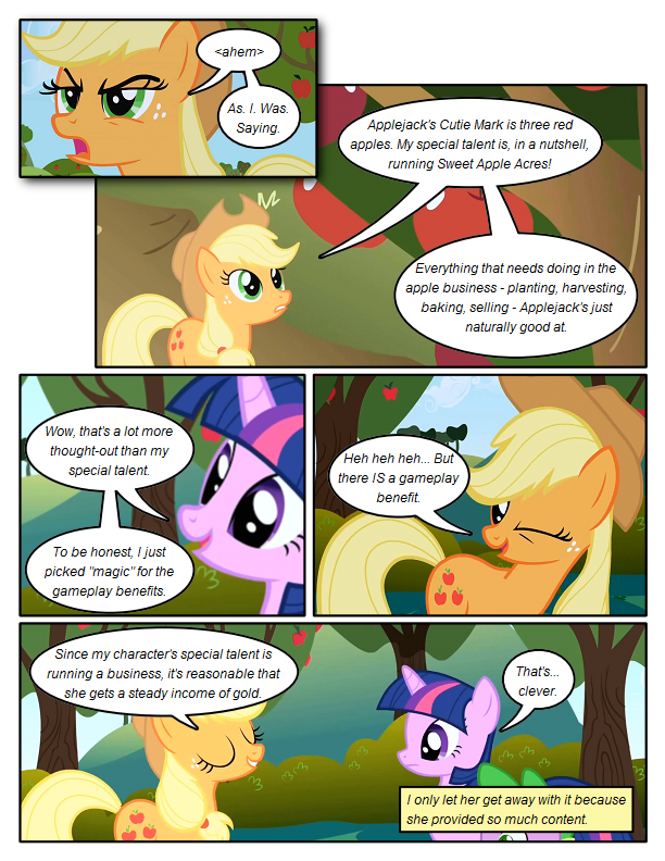 Cutie Mark Profit Margin
